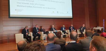 Foto 11. Nationale Maritime Konferenz 2019 2. Tag Panel